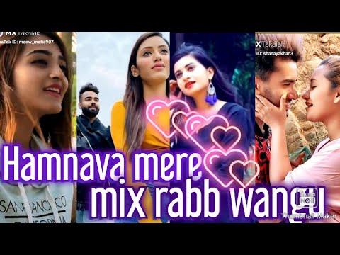 Download Humnava mere ''mix Rabb Wangu'' tik tok viral🔥 video love❤ feeling romantic