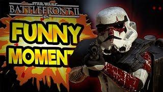 Star Wars Battlefront 2 Funny & Random Moments [FUNTAGE] #48