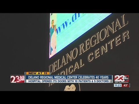 Delano Regional Medical Center Celebrates 40 Years of Service