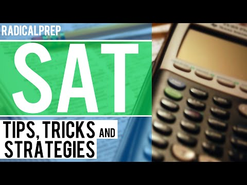 SAT Math Tips, Tricks and Strategies - Part I
