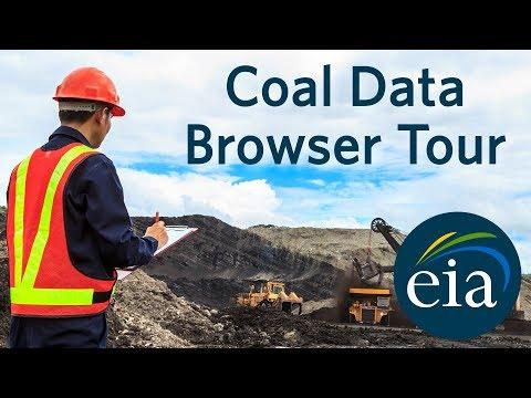 EIA's Coal Data Browser Tour