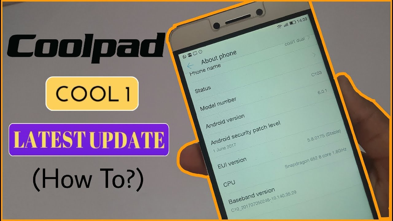 How to update coolpad cool1?🔥🔥
