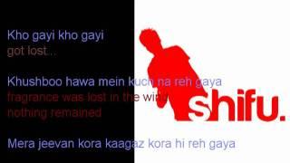 Mera Jeevan Kora Kagaz (London Mix) Kishore Kumar - [Lyrics/ Translation]