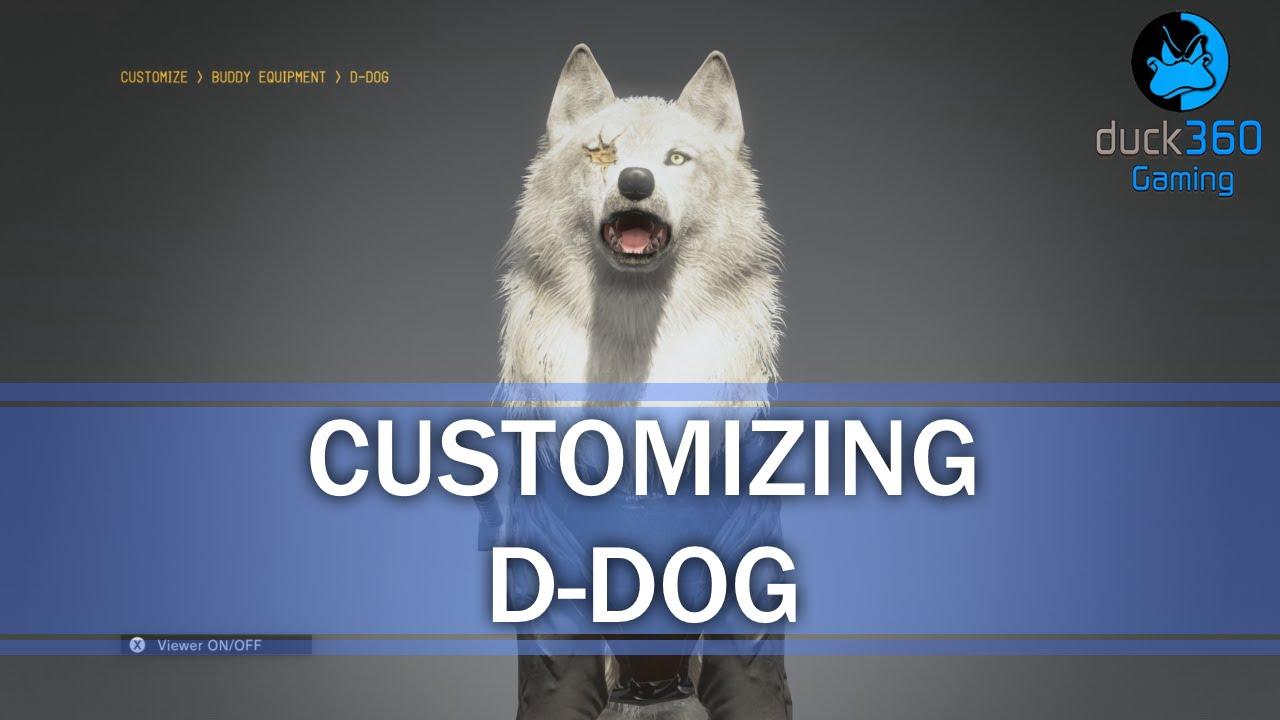 d dog mgsv