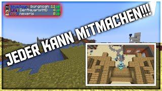 Minecraft Projekt X (JEDER KANN MITMACHEN) | Krieg?! /Minecraft Projekt X Season 3 Folge 3