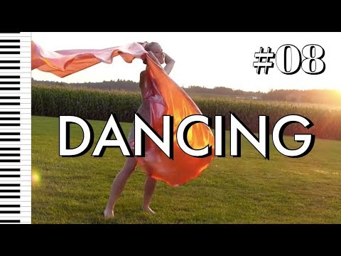 DANCING • Praise and Worship with Flags, Her Inspirational Story! • Piano Instrumental Prayer Music
