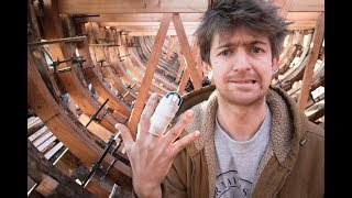 I CHOPPED off my FINGER! - Boatbuilding & Woodwork (TH EP38)