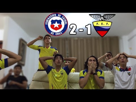 Chile Vs Ecuador 2-1 |Eliminatorias Rusia 2018| (REACCION DEL PARTIDO)