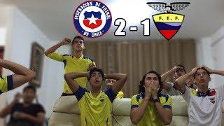 Chile Vs Ecuador 2-1 |Eliminatorias Rusia 2018| (REACCION DEL PARTIDO)