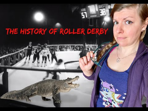 The History of Roller Derby - Story Time with Jackie