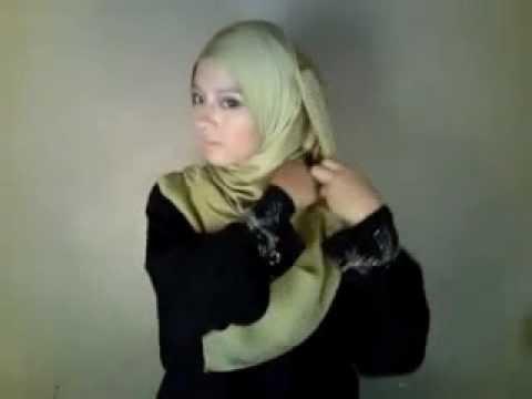Cara Memakai Jilbab Model Long Drape.FLV