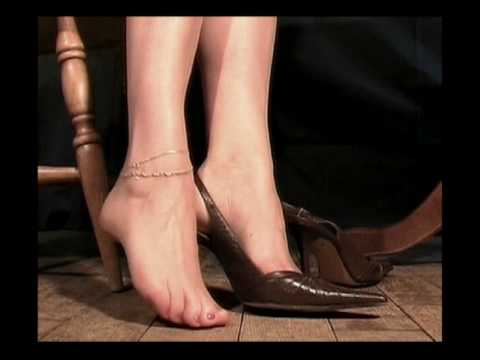 Dangling Brown Shoes Play