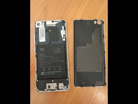 Как снять заднюю крышку Xiaomi mi5 (how to replace back cover)