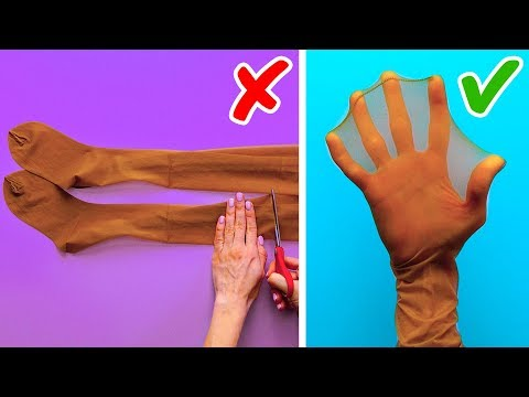 32 LIFE HACKS WITH TIGHTS