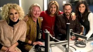 Hoda Kotb interviews Little Big Town