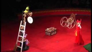 Yuliya Kravchenko - Monkey Show Circus Act