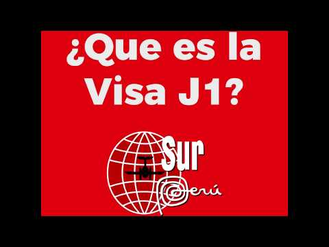 Visa J1 Sur Perú Programs