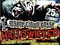 INSANE CLOWN POSSE Live 25th Annual Hallowicked in Detroit 10/31/18