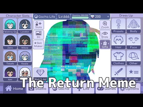 The Return Meme ||•FLASHING LIGHTS•||