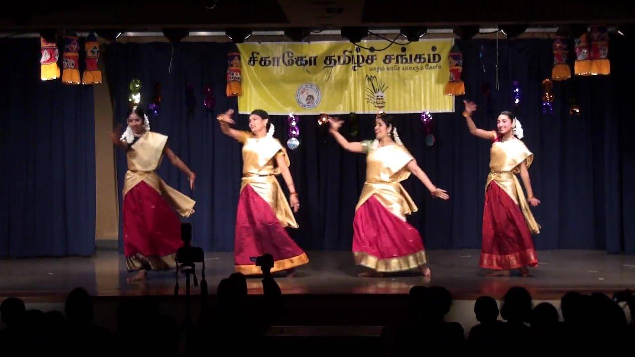 Chinamma Chilkamma Dance At Chicago Tamil Sangam 2010