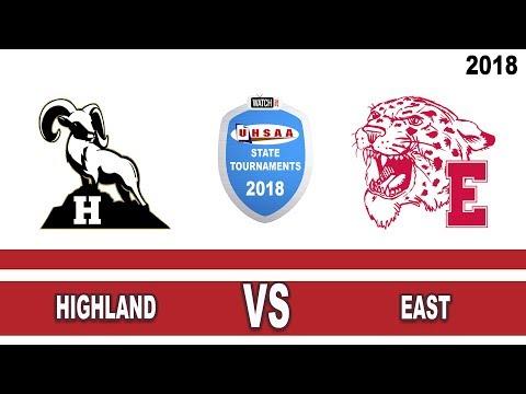 5A Girls Basketball: Highland vs East High School UHSAA 2018 State Tournament Semifinals
