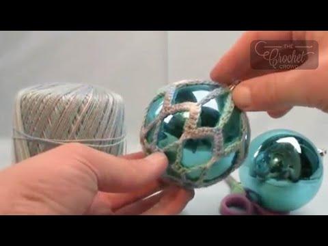 How To Crochet Thread Christmas Balls