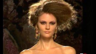GIADA CURTI Autumn Winter 2011 11 Haute Couture Rome    Fashion Channel