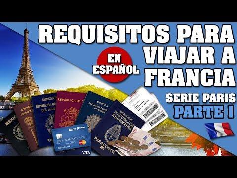 PARIS. QUE NECESITAS PARA ENTRAR A FRANCIA? SERIE PARIS PARTE 1 *EN ESPAÑOL