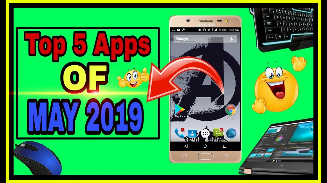 Top 5 apps for May 2019    Zedge    Study Music    Touch Master   