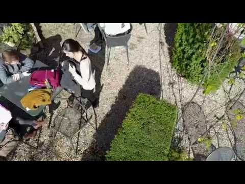 Drone Over Rome At The American University Of Rome