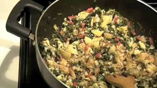 Cooking Spicy Grilled Shrimp Spinach Artichoke Dip