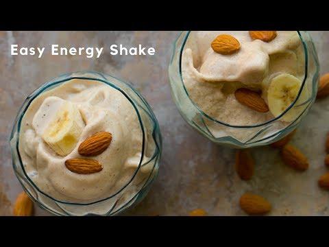 Almond Butter Banana Shake, aka my