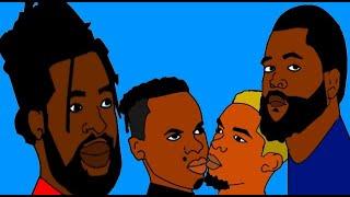 Big Zulu, Black Diamond & Sjava (Amabhinca Superstars Animated Parody)