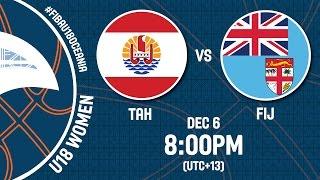 Tahiti v Fiji - Live Stream - FIBA U18 Oceania Championship 2016 Women