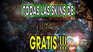 Todas las Skins de LOL  OMG!! 😉😉  🎉🎉  | League of legends