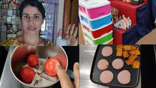 ரொம்ப நாள் ஆச்சு 😁   Morning Work Planning with smart cookware   Twins vegkitchen vlogs