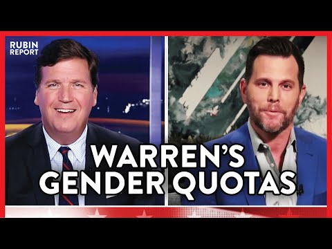 Elizabeth Warren's New Gender Quota Plan - Dave Rubin Responds | POLITICS | Rubin Report from YouTube · Duration:  3 minutes 59 seconds