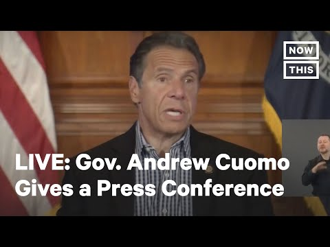 NY Gov. Andrew Cuomo Holds a Press Conference | LIVE | NowThis