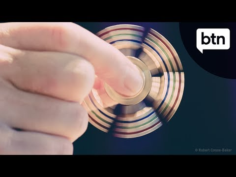 What are Fidget Spinners - Behind the News