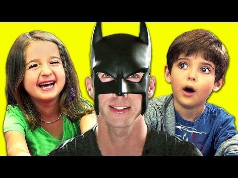 KIDS REACT TO BatDad! - KIDS REACT TO BatDad!