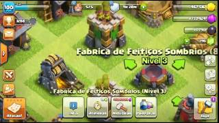 COMO TER UMA VILA RARA NO CLASH OF CLANS!!