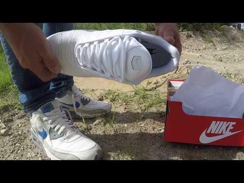 boxfresh white Nike TN in mud