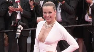 Petra Nemcova on the red carpet for the Premiere of Nelyubov in Cannes