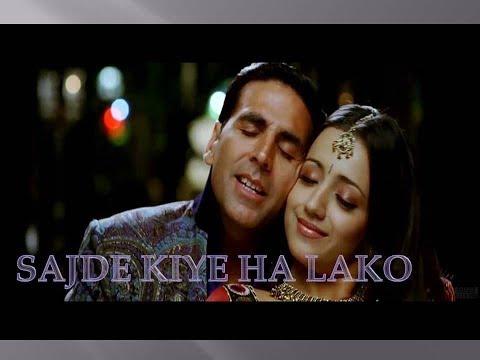 Sajde Lyrics song From Movie of Khatta Meehta
