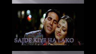 Sajde Lyrics song From Movie of Khatta Meehta