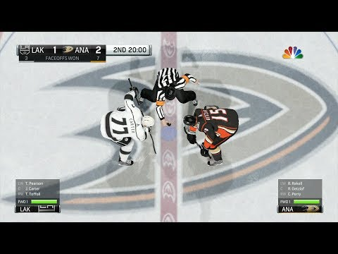 NHL 18 - Anaheim Ducks vs Los Angeles Kings - Gameplay (HD) [1080p60FPS]