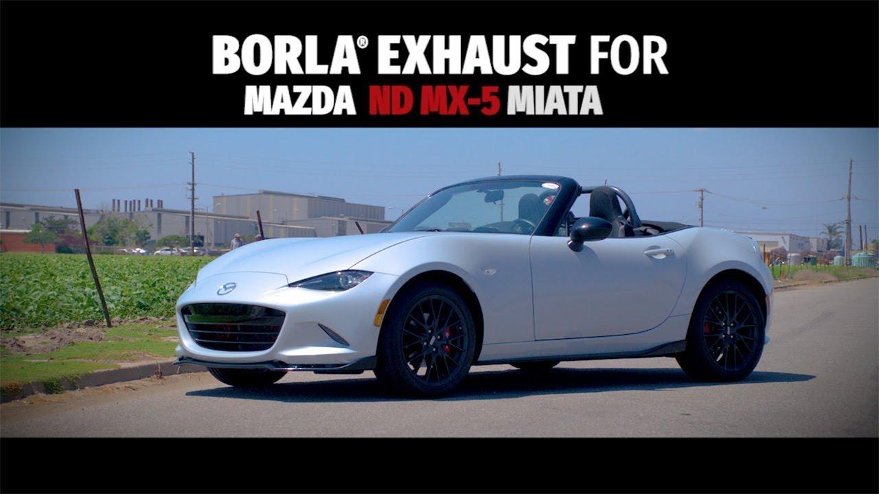 Borla Exhaust For 2016 2019 Nd Mx 5 Miata Exhaust System