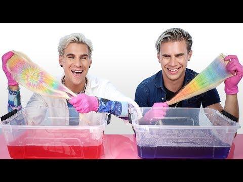 Trying The Water Color- Dip Dye Hair Method