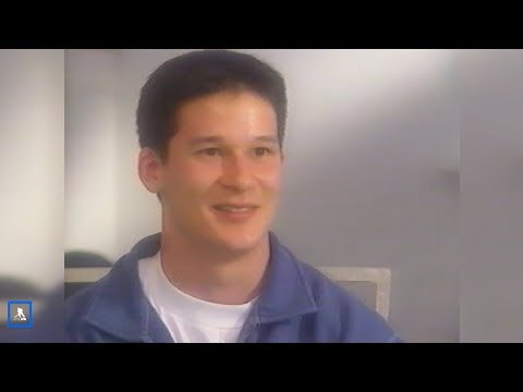 """In light of his jersey retirement today, here's a rewind video of young Paul Kariya starring in TSN's """"Be a Player, The Hockey Show."""""""