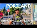 Travel to Portland Vlog: Riding Bikes and Drinking Beer